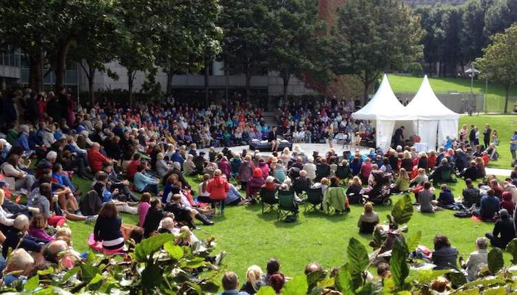wood quay opera in the open
