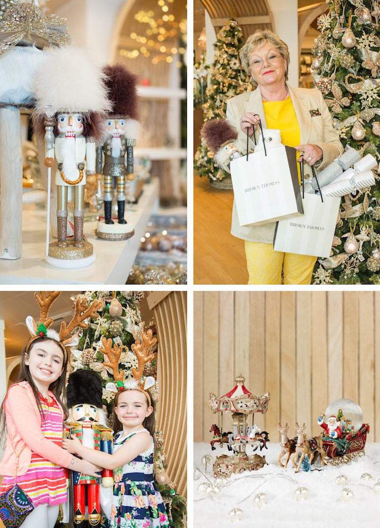 Christmas Market opens in Brown Thomas in Dublin in August!
