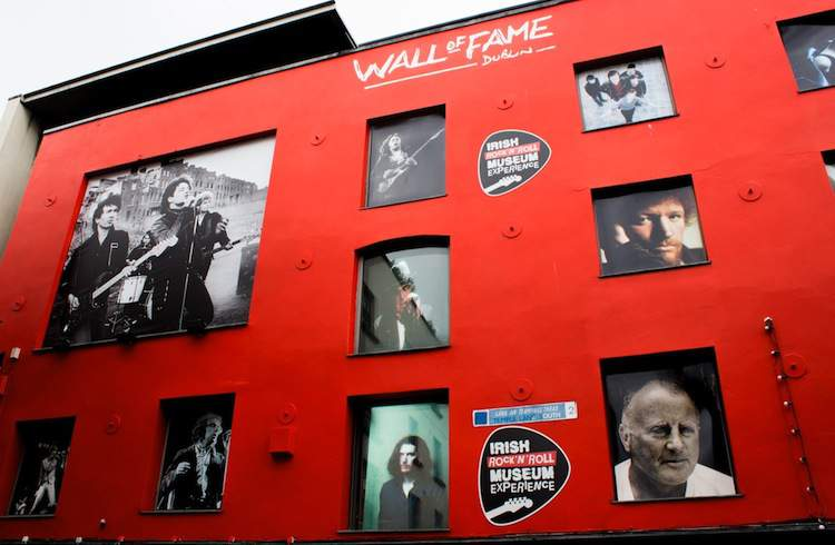 Wall of Fame Irish Rock Museum