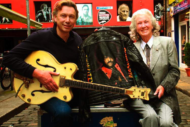 Philomena Lynott and Paddy Dunning