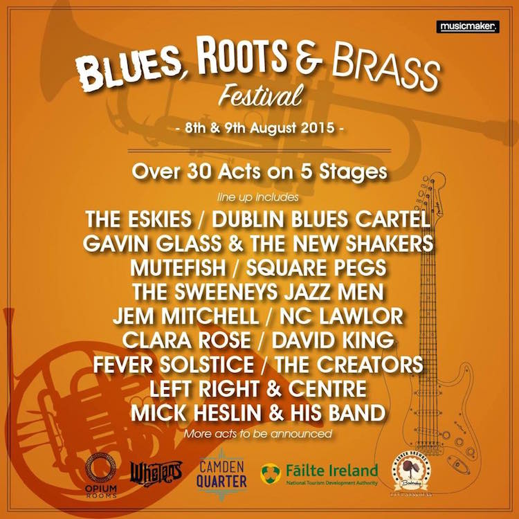 Blues, Roots and Brass Fest in Dublin
