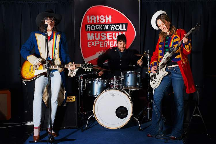 Create your own band at the Irish Rock'n'Roll Museum