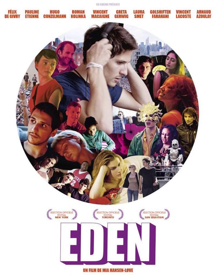 Eden (2015) movie poster