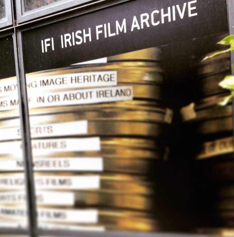 IFI Irish Film Archive in Temple Bar, Dublin