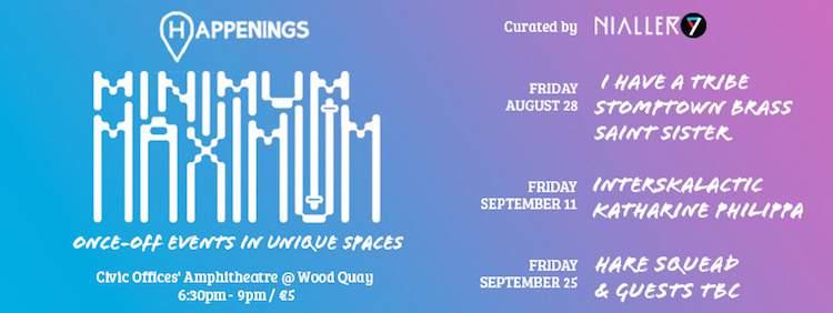 Minimum Maximum @ Wood Quay
