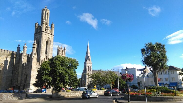 Monkstown Parish Church in Dublin