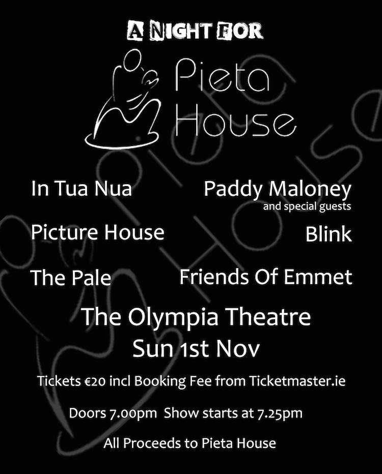 A Night For Pieta House 2015 fundraiser poster