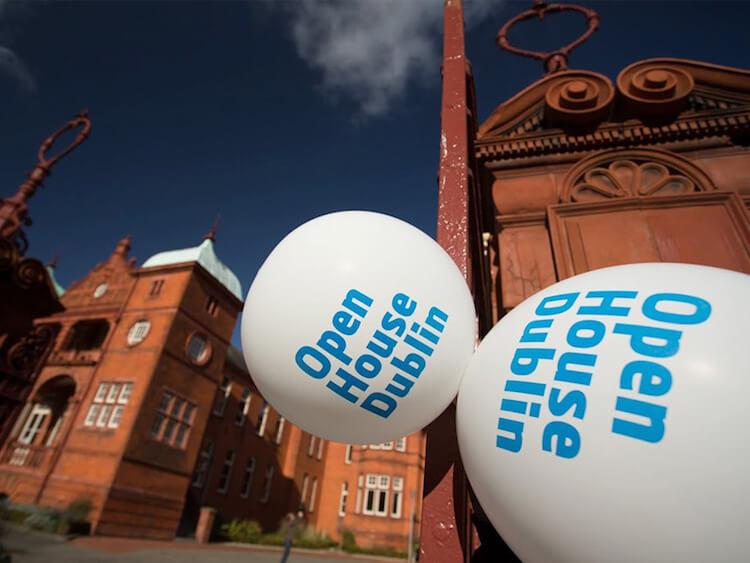 IAF Open House balloons