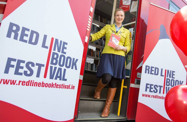 Red Line Book Festival 2015 launch w. Mayor