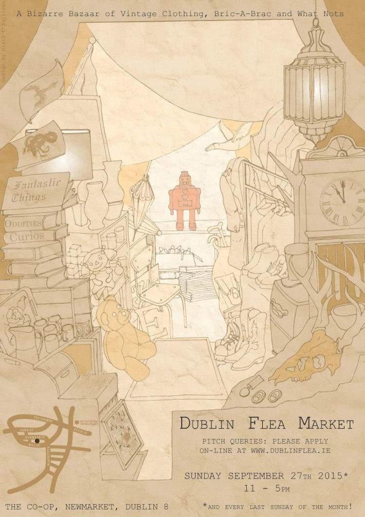 Dublin Flea Market Sept 2015