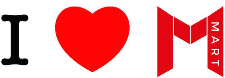 I Heart MART campaign banner