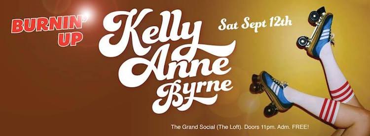 Kelly Anne Byrne Burnin' Up
