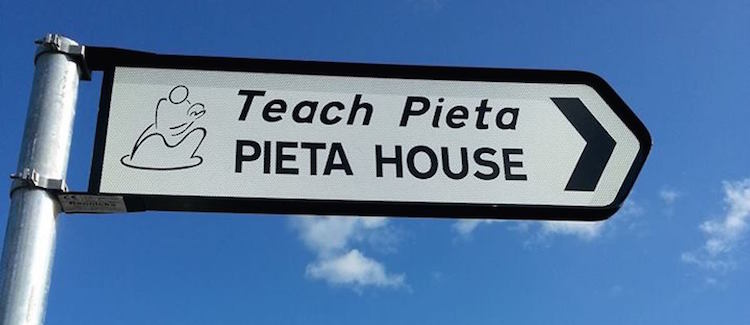 Pieta House roadsign