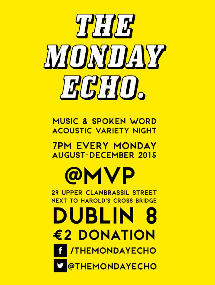 Monday Echo @ MVP 2015 poster