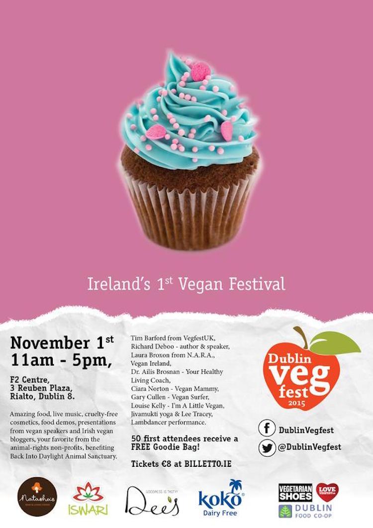 Dublin VegFest poster