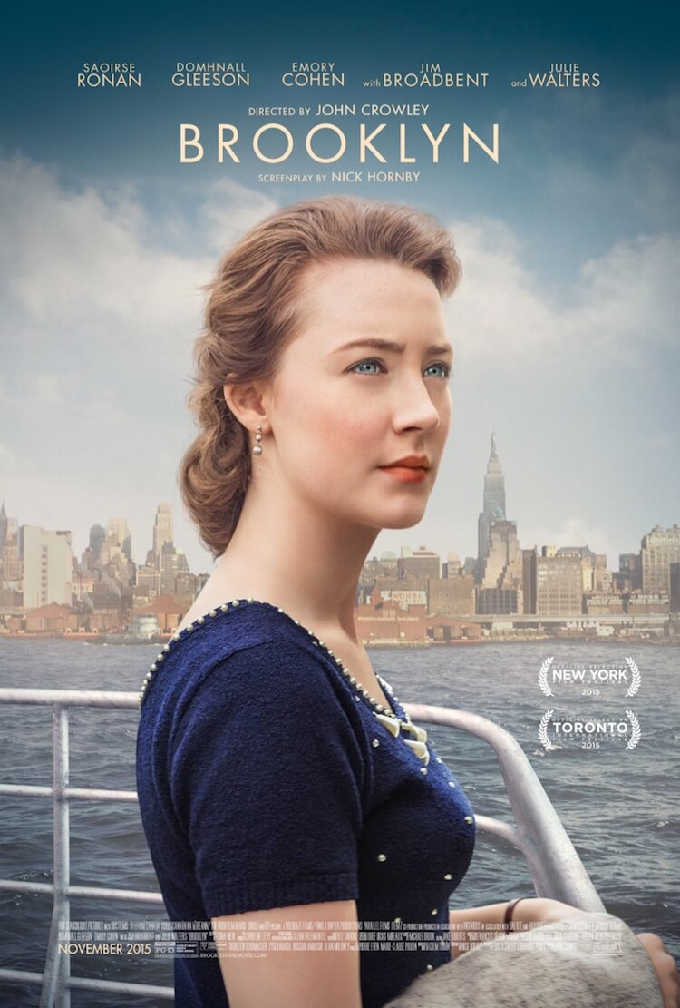 Brooklyn movie poster 2015