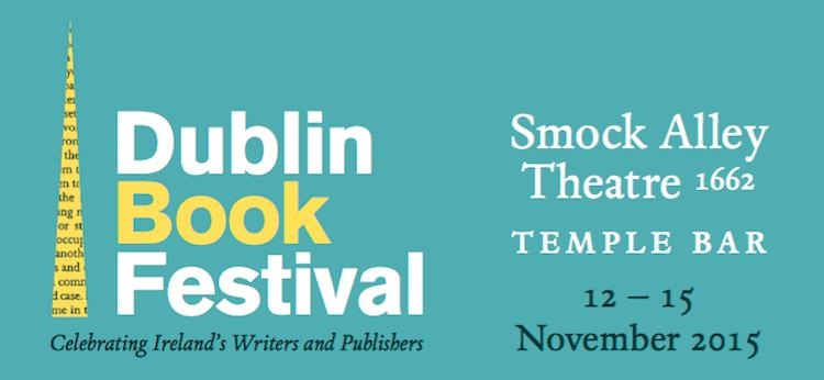 2015 Dublin Book Festival banner