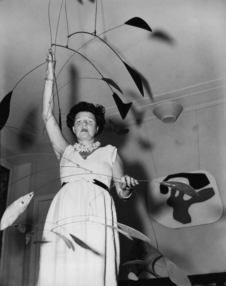 Peggy Guggenheim movie still