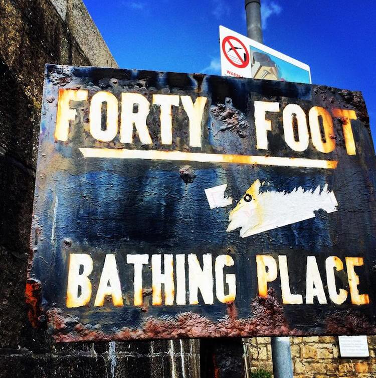 Forty Foot Dublin
