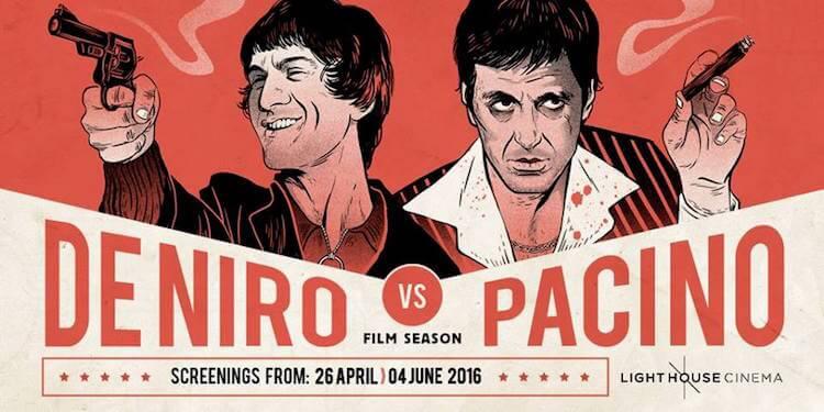 De Niro & Pacino at Light House Cinema