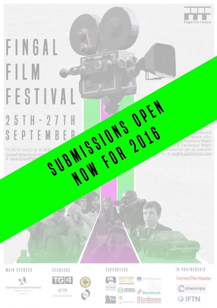 Fingal Film Fest 2016 poster