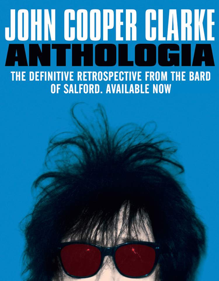 John Cooper Clarke Anthologia cover